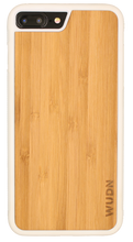 Slim Wooden iPhone Case White | Yoga Pose