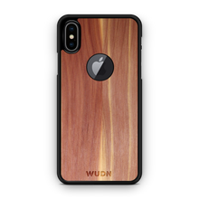 Slim Wooden Apple Logo Cut-out Case for iPhone