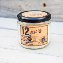 12.ZERO Soy Jar Candle- Aromatherapy Collection
