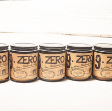 9.ZERO Hardwood Wick Amber Jar Candle- Natural Collection