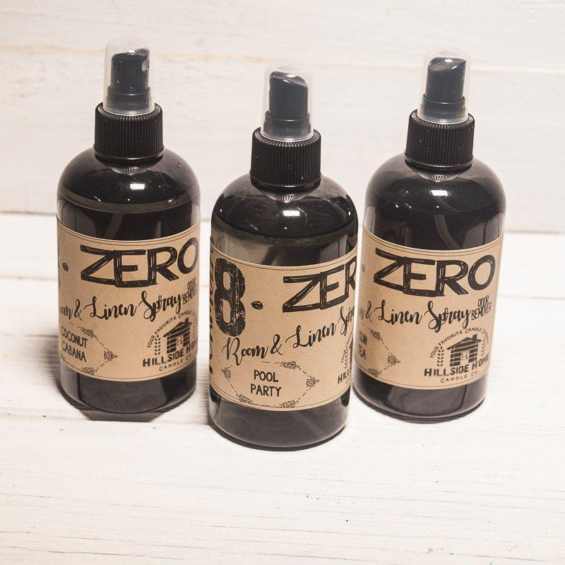 8.ZERO Room & Linen Spray- Aromatherapy Collection - 3 Pack