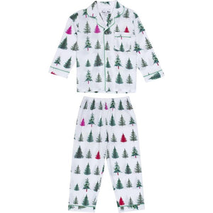 Kids Xmas Tree Shirt + PJ Pant Set