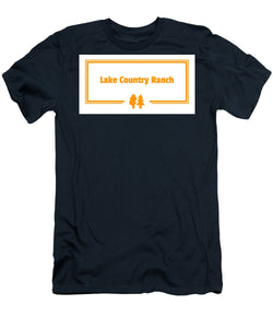 Lake Country Ranch - Men's T-Shirt (Athletic Fit)