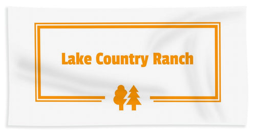 Lake Country Ranch - Beach Towel
