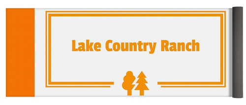 Lake Country Ranch - Yoga Mat