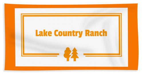 Lake Country Ranch - Bath Towel