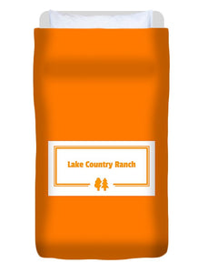 Lake Country Ranch - Duvet Cover