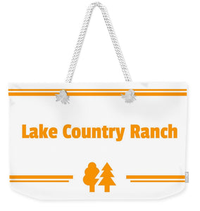 Lake Country Ranch - Weekender Tote Bag
