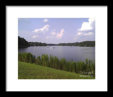 Lake Greenbriar On The Ranch - Framed Print