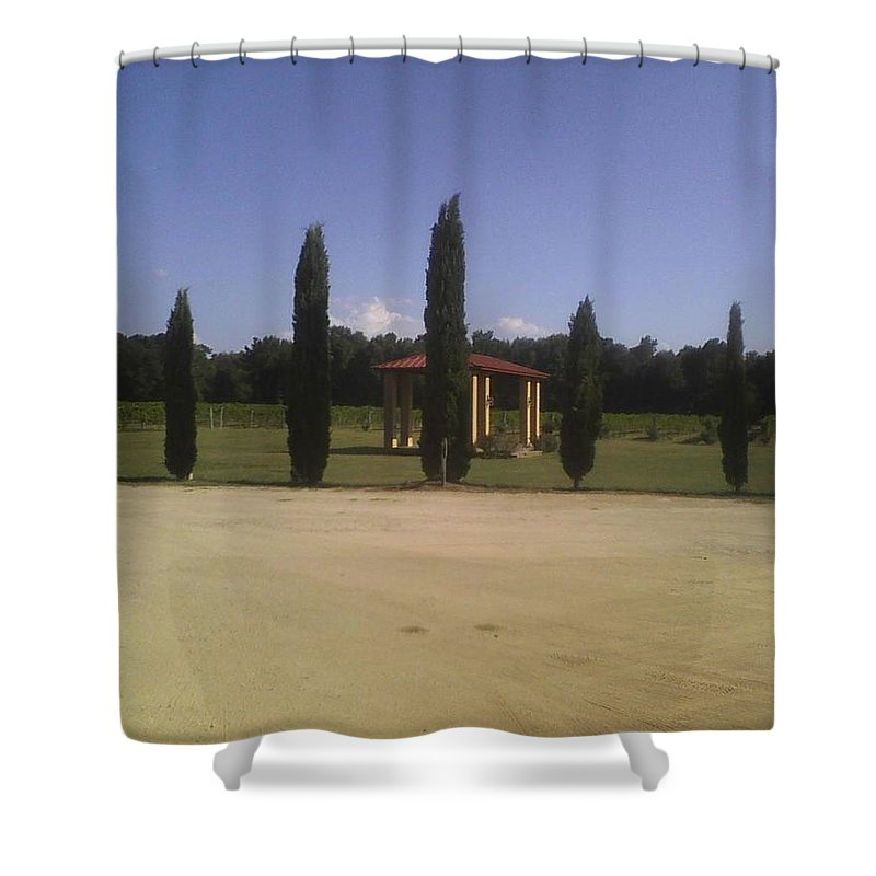 Los Pinos Ranch - Shower Curtain