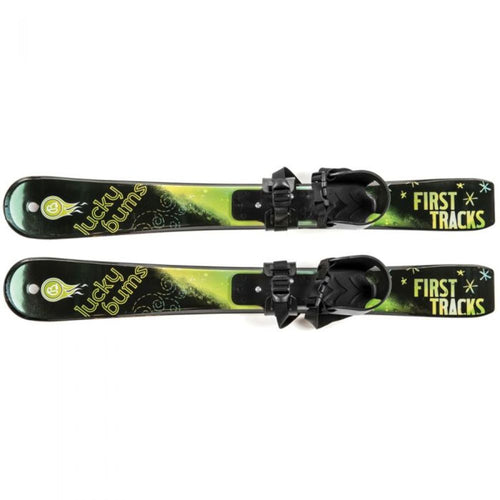 Lucky Bums Beginner Ski Set Green