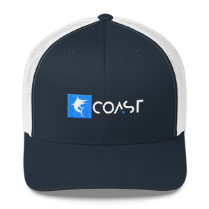 Find Your Coast Marlin Mid-Profile Trucker Hat