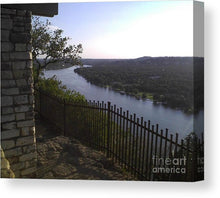 Mt. Bonnell Overlooking Austin - Canvas Print