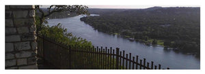 Mt. Bonnell Overlooking Austin - Yoga Mat