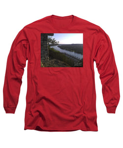 Mt. Bonnell Overlooking Austin - Long Sleeve T-Shirt