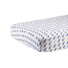 Blue Deer Crib Sheet by Newcastle Classics