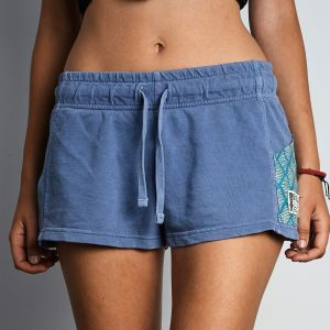 Pocketed Shorts on Thunder Blue