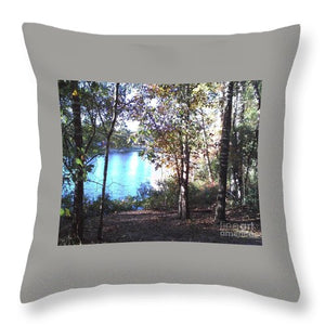 November Day - Throw Pillow
