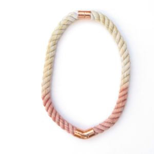 Sunkissed Sky - Rope Necklace