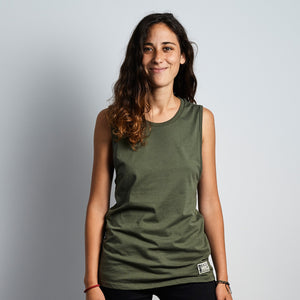 Muscle Tank Military Green