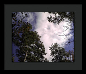Raging Sky - Framed Print