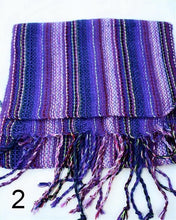 Striped Handwoven Alpaca Scarf
