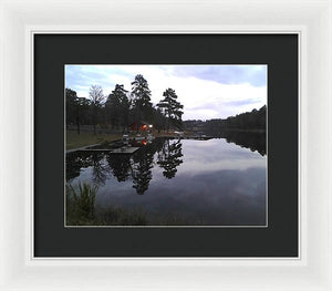Sunrise On Christmas Day - Framed Print
