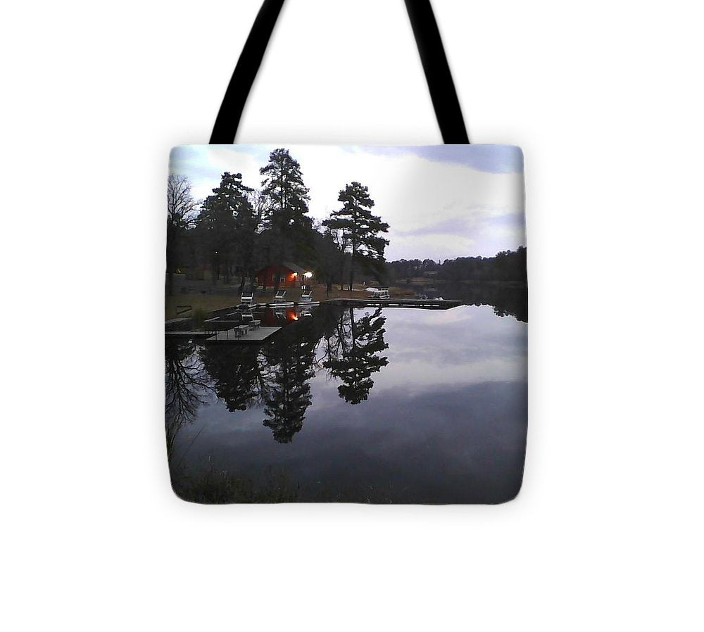 Sunrise On Christmas Day - Tote Bag