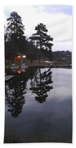 Sunrise On Christmas Day - Bath Towel