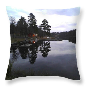 Sunrise On Christmas Day - Throw Pillow