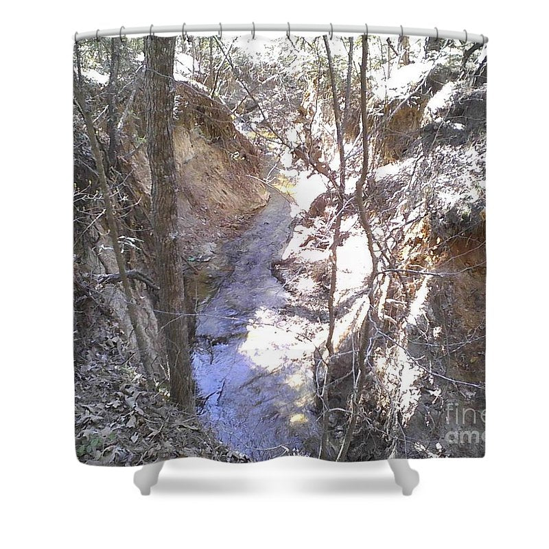 The Natural Creek - Shower Curtain