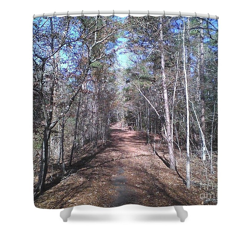 The Perfect Path - Shower Curtain