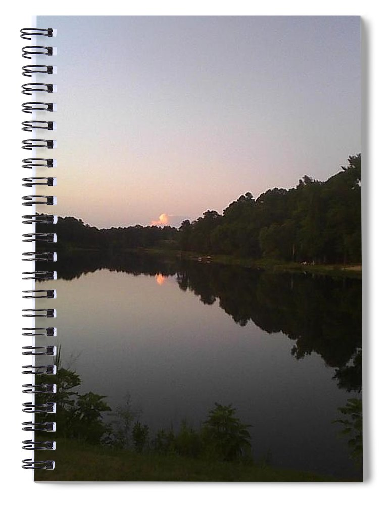 The Stillness Of The Night - Spiral Notebook