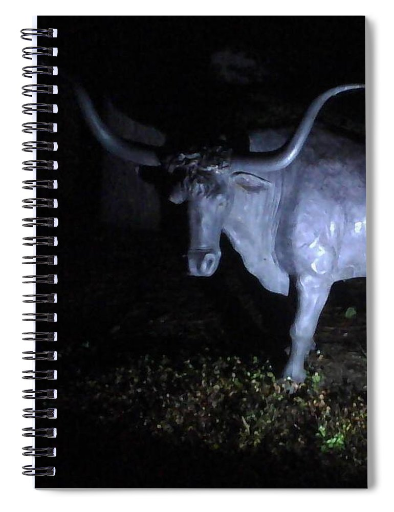 The Texas Longhorn - Spiral Notebook