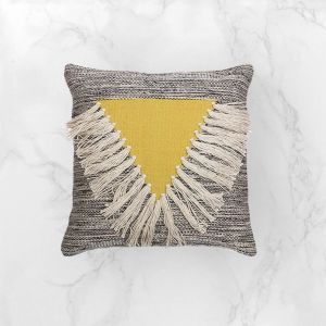Alba Citrine Cushion