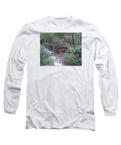 Waterfall Bridge Crossing - Long Sleeve T-Shirt