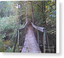Waterfall Crossing - Canvas Print