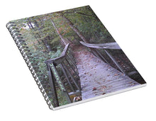 Waterfall Crossing - Spiral Notebook