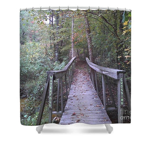 Waterfall Crossing - Shower Curtain