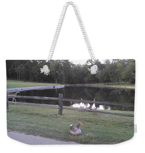Wildlife At The Pond - Weekender Tote Bag