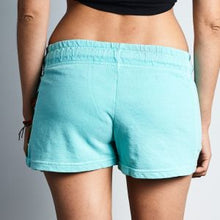 Pocketed Shorts on Foam Blue