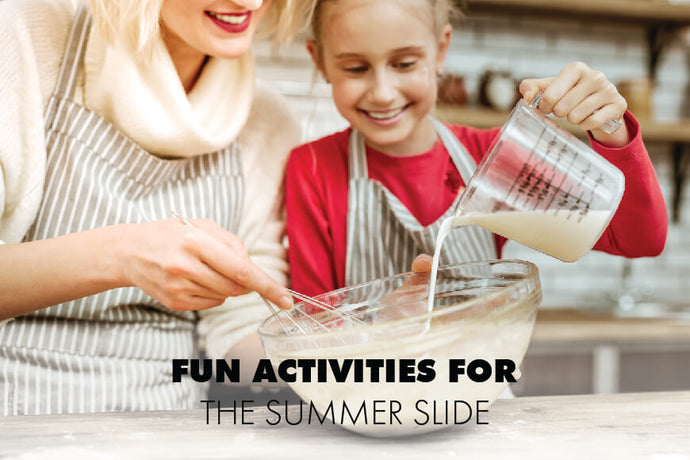 4 Fun Ways To Help Your Kids Escape Summer Slide