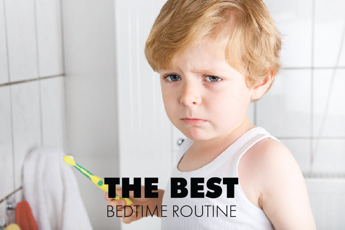 The Best Bedtime Time & Routine for Your School-Aged Child