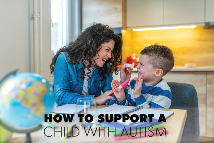 How to Support a Child with Autism at Home