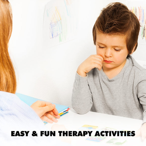 Easy and fun therapy activities for kids