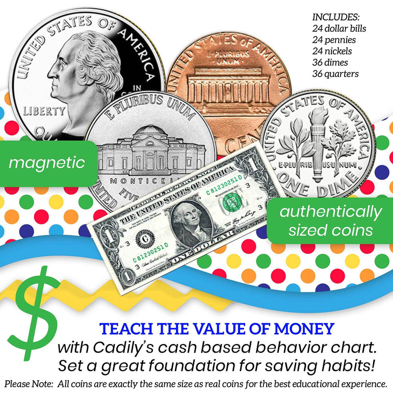 Cash Reward Chart for Kids