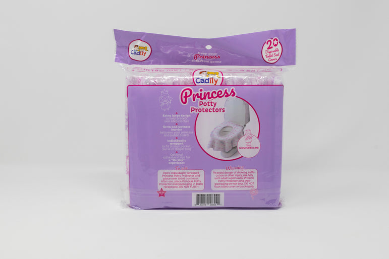 Princess Potty Protector: Disposable Toilet Seat Covers