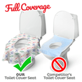 On the Go Potty Protector: Disposable Toilet Seat Covers