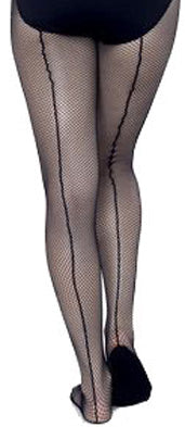 Capezio Adult - Professional Fishnet Seamed Tights