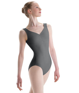 Motionwear - Pinch-Front Sweetheart Leotard